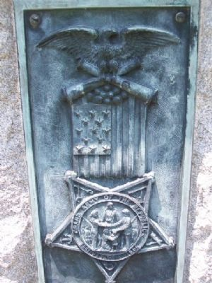 Phil Kearny Post No. 19 G.A.R. Memorial Emblem image. Click for full size.