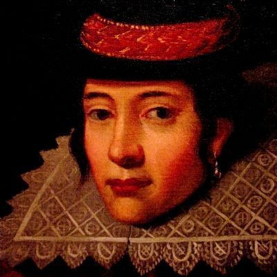 Pocahontas -- Lady Rebecca, (c. 1595 - 1617) image. Click for full size.
