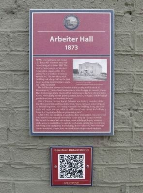 Arbeiter Hall Marker image. Click for full size.