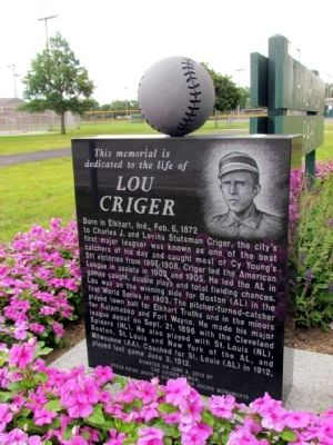 Lou Criger Marker image. Click for full size.
