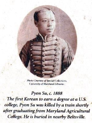 Pyon Su, c. 1888 image. Click for full size.