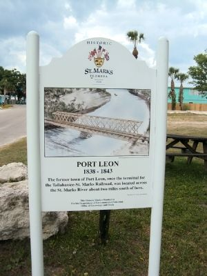 Port Leon Marker image. Click for full size.