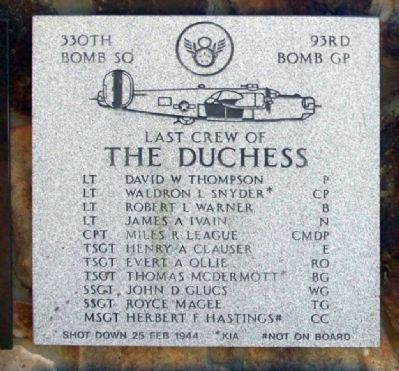 The Duchess Marker image. Click for full size.