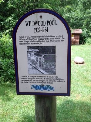 Wildwood Pool Marker image. Click for full size.