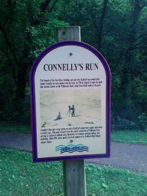 Connelly's Run Marker image, Touch for more information