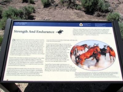 Strength and Endurance Marker image. Click for full size.