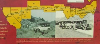 Lincoln Highway Route image. Click for full size.