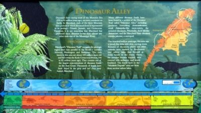 Dinosaur Alley Marker image. Click for full size.