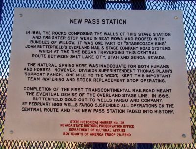 New Pass Station Marker image. Click for full size.