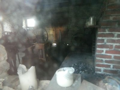 Blacksmith Shop Interior image. Click for full size.