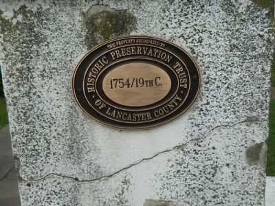 Lancaster Historic Preservation Trust Marker at Leacock Church image. Click for full size.