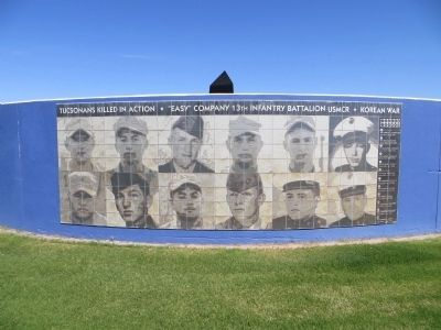 Tucsonans Killed in Action Marker image. Click for full size.