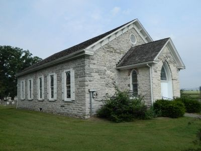 Leacock Presbyterian Church image. Click for full size.