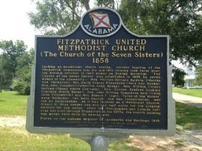 Fitzpatrick United Methodist Church Marker image. Click for full size.