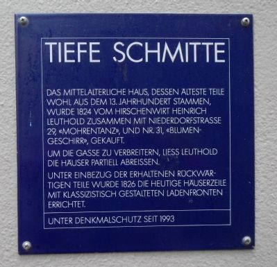 Tiefe Schmitte Marker image. Click for full size.