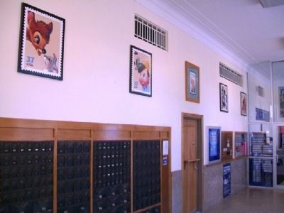 Walt Disney Post Office Lobby image. Click for full size.