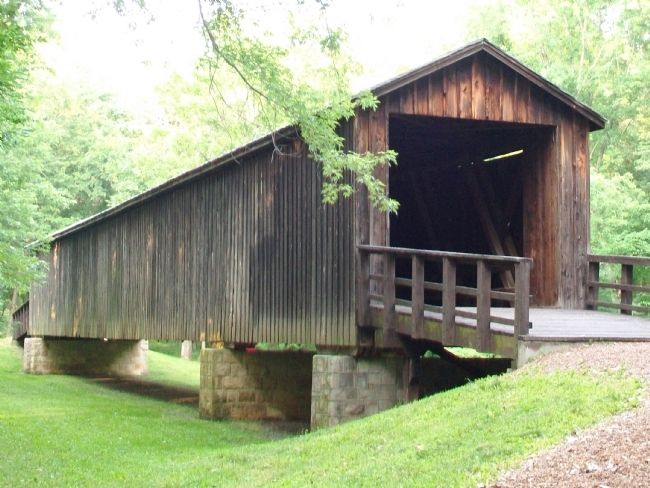 Locust Creek Covered Bridge image. Click for full size.