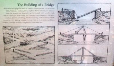 [Covered Bridge] Truss Structures and Truss Variations Marker - Building image. Click for full size.