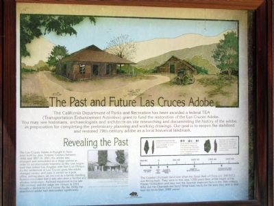 The Past and Future Las Cruces Adobe Marker image. Click for full size.