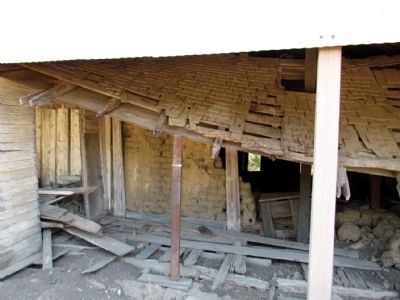 Las Cruces Adobe under Protective Roof image. Click for full size.