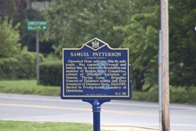 Samuel Patterson Marker image. Click for full size.