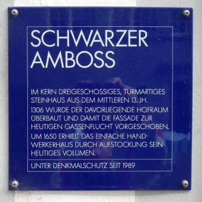 Schwarzer Amboss Marker image. Click for full size.