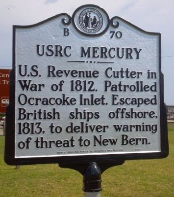 USRC Mercury Marker image. Click for full size.