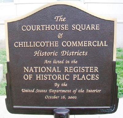 Livingston County Courthouse Historic Districts Marker image. Click for full size.