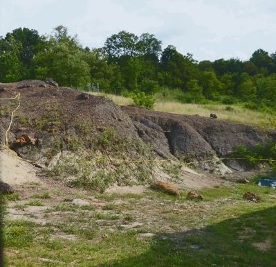 Diggings at Dinosaur Park image. Click for full size.