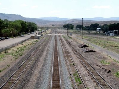 Union Pacific Railroad Tracks in Carlin image. Click for full size.