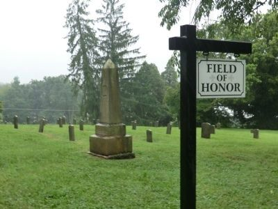 Confederate Section of East Hill Cemetery Marker image. Click for full size.