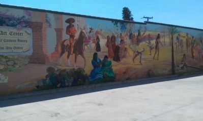 Early California Mural image. Click for full size.