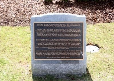 Beaufort South Carolina Tricentennial Plaque 4 image. Click for full size.