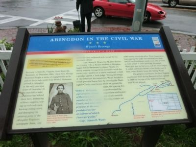 Abingdon in the Civil War Marker image. Click for full size.