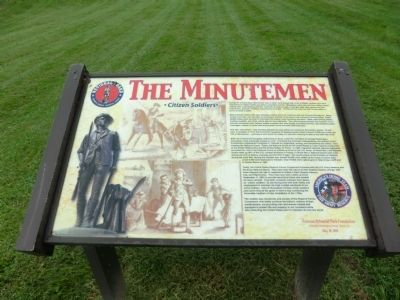 The Minutemen Marker image. Click for full size.