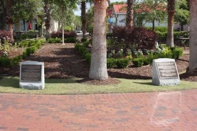 Beaufort South Carolina Tricentennial Plaques<br> 8 and 9 image. Click for full size.
