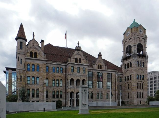 Lackawanna County Courthouse (1884) image. Click for full size.