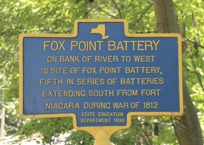 Fox Point Battery Marker image. Click for full size.