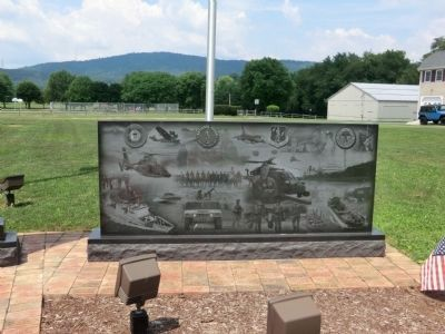 Clear Spring Veterans Memorial Marker image. Click for full size.