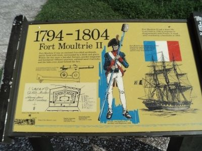 Fort Moultrie II	 Marker image. Click for full size.