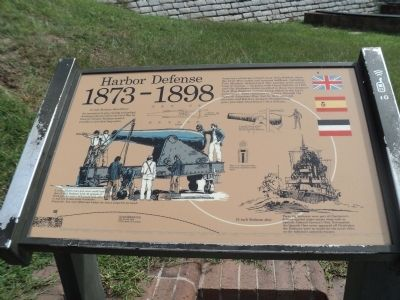 Harbor Defense Marker image. Click for full size.
