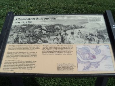 Charleston Surrenders Marker image. Click for full size.