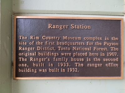 Ranger Station Marker image. Click for full size.