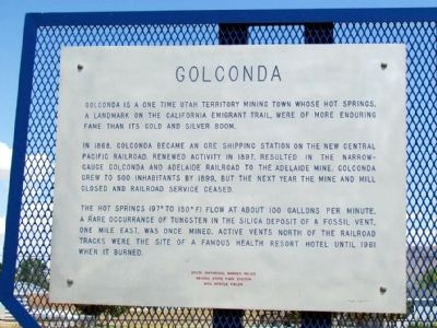 Golconda Marker image. Click for full size.