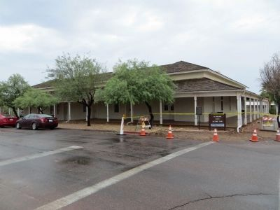 First Pinal County Courthouse image. Click for full size.