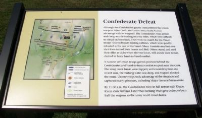 Confederate Defeat Marker image. Click for full size.