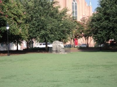 Marker at Marion Square image. Click for full size.