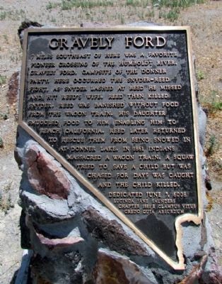 Gravely Ford Marker image. Click for full size.