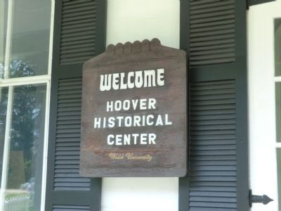Hoover Historical Center Marker image. Click for full size.