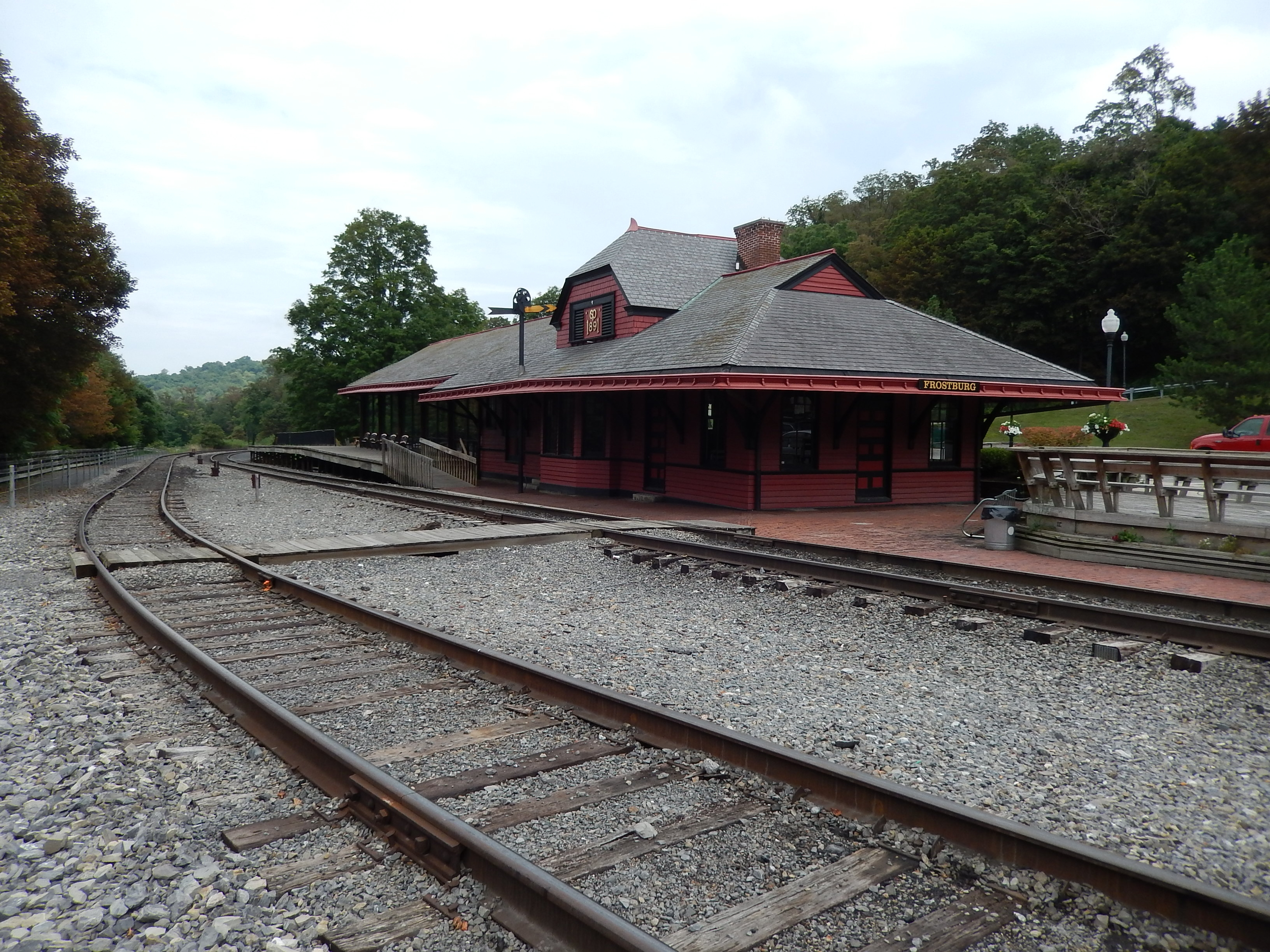 Cumberland and Pennsylvania Railroad Depot